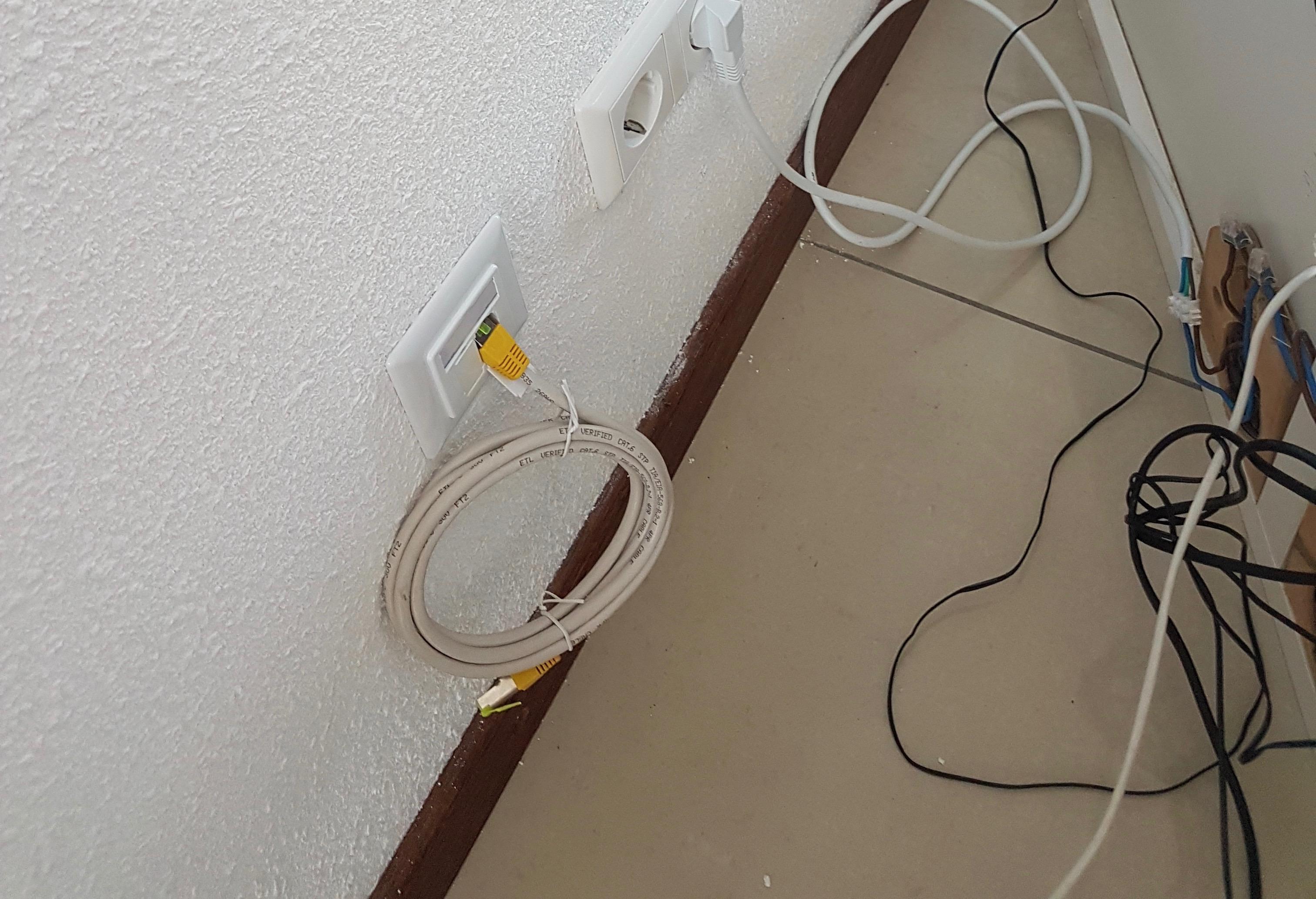 Internetkabel aanleggen